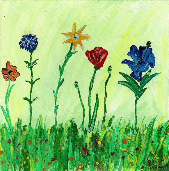 Gemalte Kinderbilder kunsttherapie kunstwerkstatt schüngel gemalte bilder